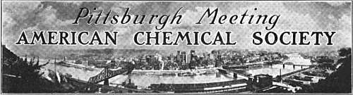 American Chemical Society Pittsburgh Meeting Logo
